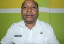 Kepala Dinas Tenaga Kerja Provinsi Papua, Yan Piet Rawar