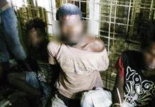 Beberapa pelaku pencurian dan pemerkosaan diamankan di Mapolres Merauke