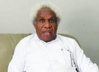 Caption: Ketua FKUB Papua Pdt. Lipiyus Biniluk,M.Th.