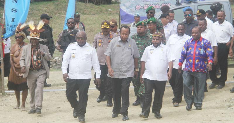 Para Muspida saat menghadiri acara Konferensi GIDI Wilayah Toli ke X d Longgoboma