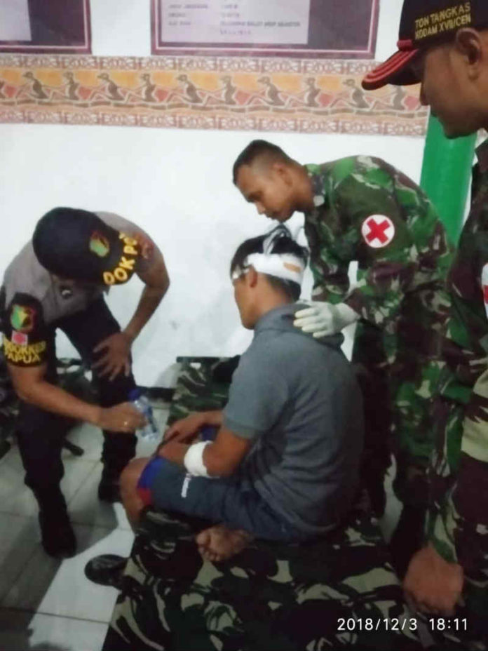 Salah satu korban pembantai berhasil selamatkan diri, kini korban sedang mendapat perawatan intensif