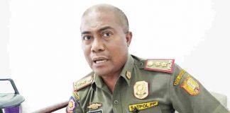 Kepala Satuan Polisi Pamong Praja (Satpol PP) Kota Jayapura, Mukhsin Ningkeula