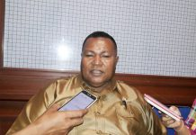 Ketua Bapemperda DPRD Kabupaten Jayapura, Eliab Ongge, S.IP., M.