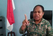 Ketua Pokja Perempuan, Majelis Rakyat Papua, Nerlince Wamuar Rolo,SE