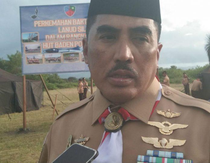 Caption : Danlanud Silas Papare, Marsma TNI Tri Bowo Budi Santoso