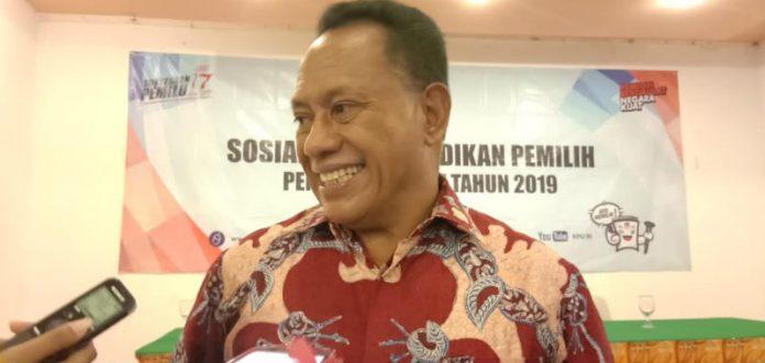 Caption : anggota DPR RI Komisi II Komarudin Watubun
