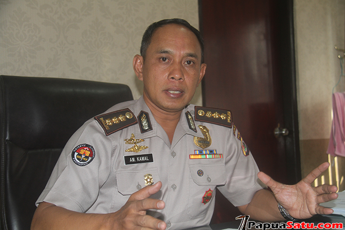 Kabid Humas Polda Papua, Kombes Pol A.M Kamal