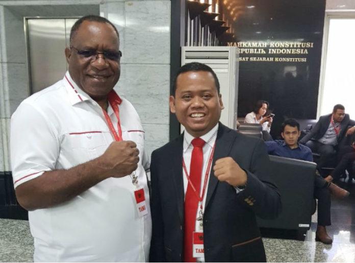 sengketa Pilkada Papua nomor perkara 48/PHP.Gub-XVI/2018