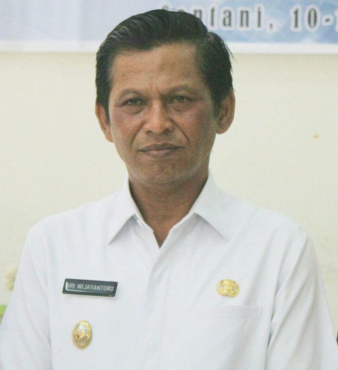Caption : Wakil Bupati Jayapura, Giri Wijayantoro. Foto : Tinus Yigibalom/PapuaSatu.com