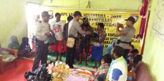 Satuan Binmas Polres Jayawijaya saat bertatap muka 1