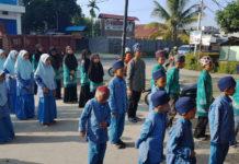 Siswa/i yang menempuh pendidikan di Lembaga Ikhwan Papua Berkat