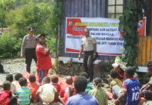 Sat Binmas Polres Puncak Jaya Anjangsana dan Silahturahmi di Kampung Kulirik