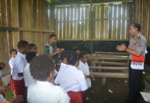 Satgas Noken mengajar