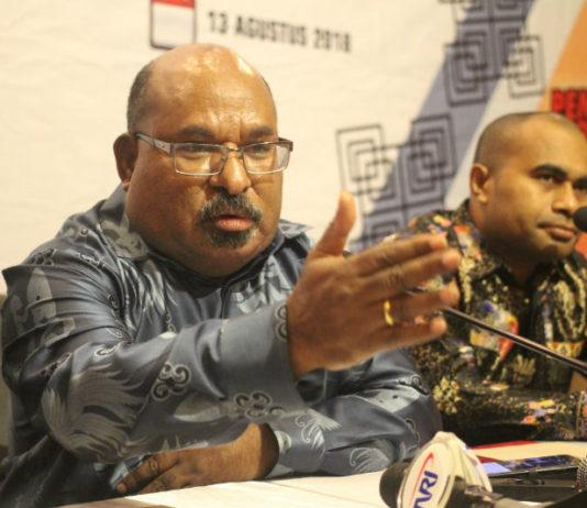 Gubernur Papua terpilih periode 2018-2023, Lukas Enembe, S.IP MH