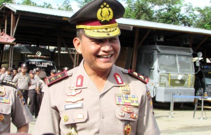 Kapolda Papua,Irjen Pol. Drs. Martuani Sormin,M.Si