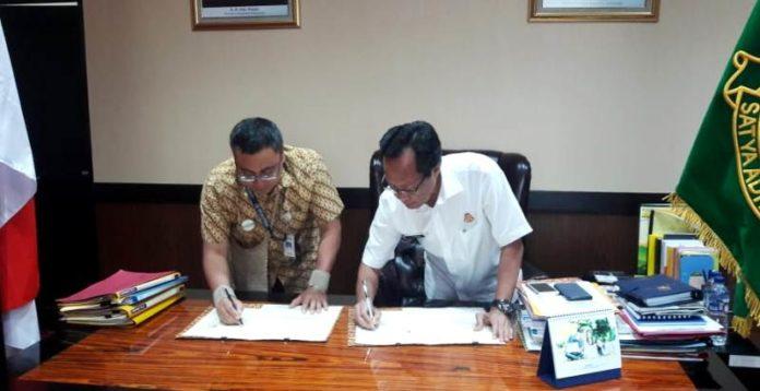 Penandatanganan nota kesepahaman antara BPJS Kesehatan Kedeputian WIilayah Papua dan Papua Barat bersama Kejaksaan Tinggi Papua