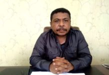 Ketua MRP-PB, Maxsi Nelson Ahoren