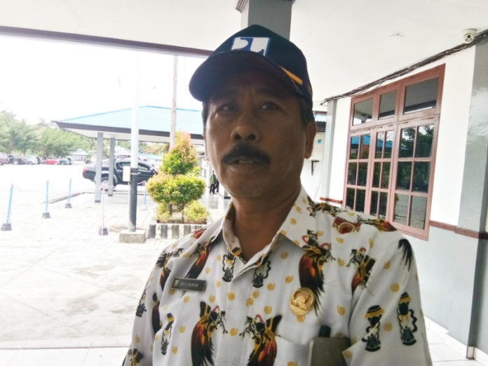 Caption: Kepala Dinas Perumahan dan Pemukiman Kabupaten Keerom Edy Buntan. Foto : Alfred/PapuaSatu.com