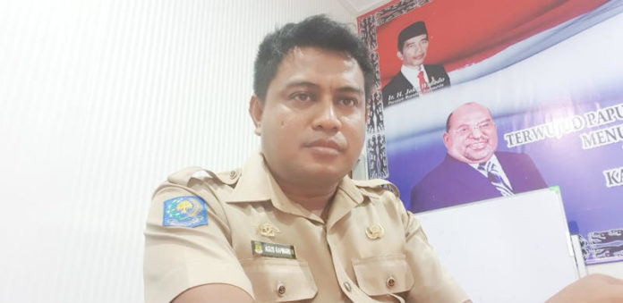 Caption: Sekretaris Umum POSSI Papua, Agus Rahmawan, S.STP.Pi, M.Si