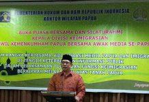 Kepala Divisi Keimigrasian Papua, Hermansyah Siregar