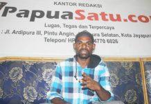 Ketua Solidaritas Anti Miras (SAMN) Kota Jayapura, Anias Lengka