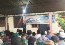 Caption : Wali Kota Jayapura, DR. Drs Benhur Tomi Mano MM, saat menyampaikan sambutan pada kegiatan Safari Ramadhan di Yayasan Panti Asuhan Muhammadiyah, Jumat (17/5/2019).