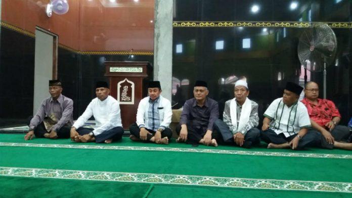 Caption : Pemerintah Kota Jayapura Gelar Safari Ramadhan bersama umat Muslim di Masjid Al - Ikhlas Perum Kotaraja Dalam.