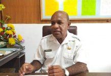 Ketua Panitia Penerimaan CPNS Formasi 2018 Kabupaten Keerom, Adrianus Samonsabra.