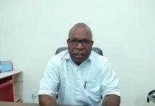 Kepala Cabang PLN UP3 Jayapura, Salmon Kareth, ST, MM