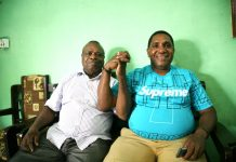 Caption: Longginus Fatagur (kiri) dan Malensius Musui. Calon yang direkomendasikan oleh Partai Keadilan Sejahtera untuk mengisi kekosongan jabatan Wakil Bupati Keerom.