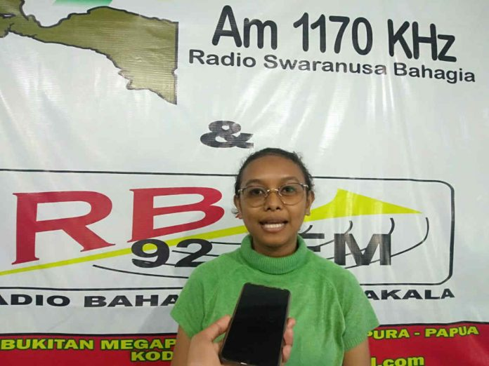Station Manager RBS, Angelica Vercelly Sarewendo Senggu