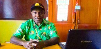 Kepala Dinas Kependudukan Kabupaten Dogiyai, Yosep Koga S.Pd