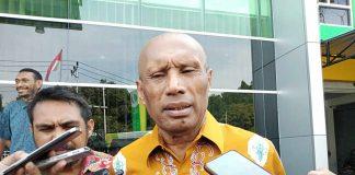 Ketua Umum Persipura-Jayapura Dr. Benhur Tomi Mano, MM (BTM).