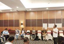 Caption : Suasana pelatihan Media dan CSO di salah satu Hotel Jayapura-Papua, Senin (15/7/2019).