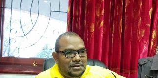 Kepala Dinas Perindakop dan UKM Kota Jayapura, Robert L. N. Awi, ST, MT