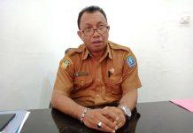 Caption : Kepala Dinas Kependudukan dan Pencatatan Sipil (Kadisdukcapil) Kabupaten Jayapura, Herald Berhitu, S.Pd., M.M.