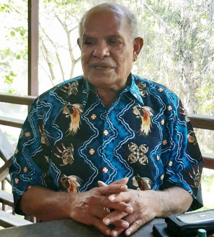 Tokoh Adat Kota Jayapura George Awi