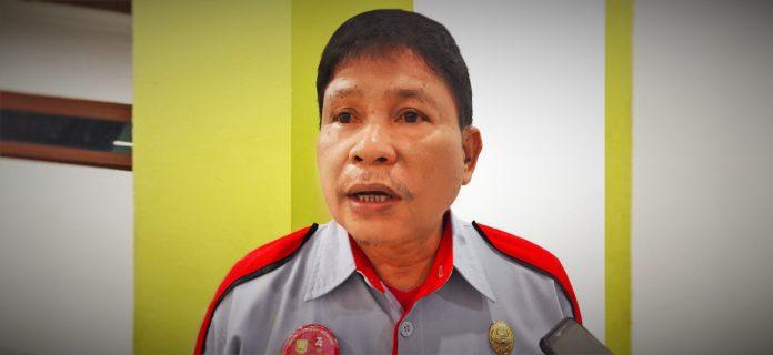 Kepala Dinas Penanaman Modal Perizinan Terpadu Satu Pintu (DPM-PTSP) Kota Jayapura, Yohanes Wemben