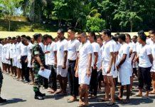 Seleksi penerimaan calon bintara TNI AD TA 2019 oleh Panitoa Daerah (Panda) Kodam XVII/Cenderawasih