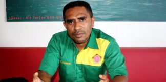 Ketua Pemuda Mandala Trikora Provinsi Papua, Ali A. Kabiay