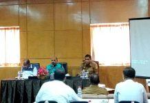 Pertemuan PB PON dengan BUMN dan BUMD jelang PON XX 2020 di Hotel Sahid Papua, Senin (9/9/2019) siang
