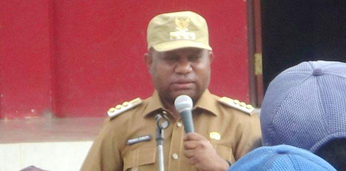 Bupati Dogiyai Yakobus Dumupa, S.IP