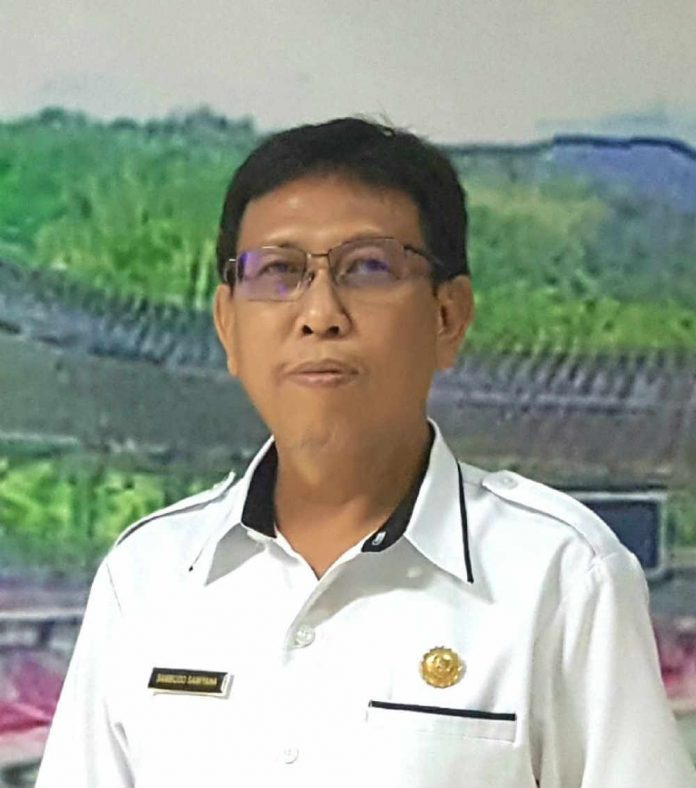 Kepala Dinas perkebunan dan peternakan Kabupaten Jayapura Dodi Samyana