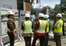 Caption : Sejumlah anggota Komisi IV DPRP saat melakukan kunjungan kerja ke lokasi venue basebaal dan softball, Jum'at(18/10/2019) siang. Foto : Ist/PapuaSatu.com