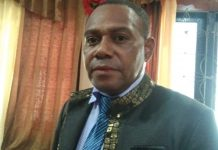 Ketua Komisi B Dewan Perwakilan Rakyat Daerah (DPRD) Kabupaten Jayapura, Yohanes Hikoyabi, S.Si., M.Si.,