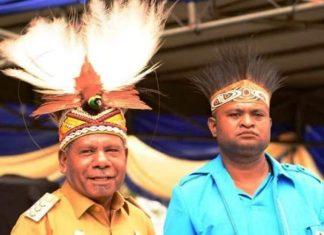Caption : Bupati Kabupaten Jayapura, Mathius Awoitauw saat memberikan materi pada IVL season 6, di Jakarta, Rabu (20/11/2019). Foto : Ist/PapuaSatu.com