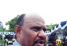 Caption: Ketua MRP Papua Timotius Murib (sony)