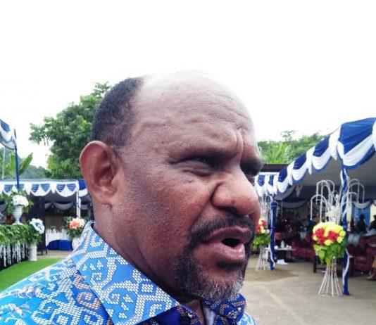 Caption: Ketua MRP Papua Timotius Murib (sony)