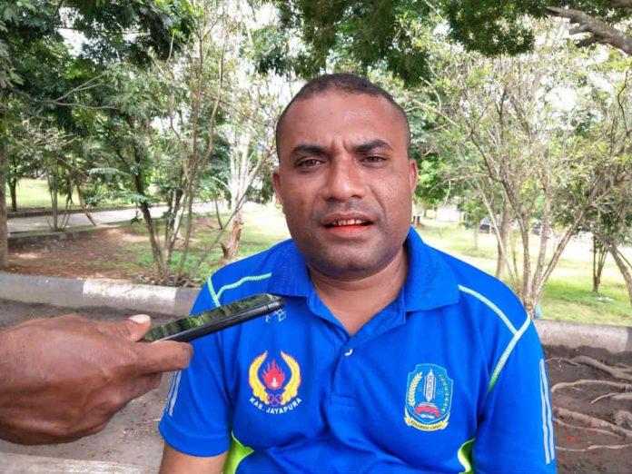 Ketua GPI Kabupaten Jayapura, Otis Suwae