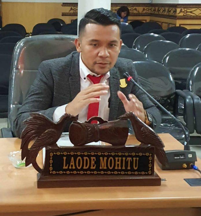 Anggota DPRD Kokta Jayapura La Ode Mohitu